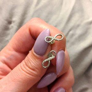 SS infinity earrings